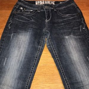 Hydraulic Flare Jeans